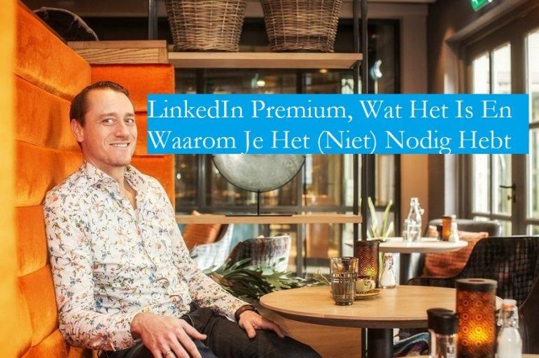LinkedIn Premium Victor Huiting
