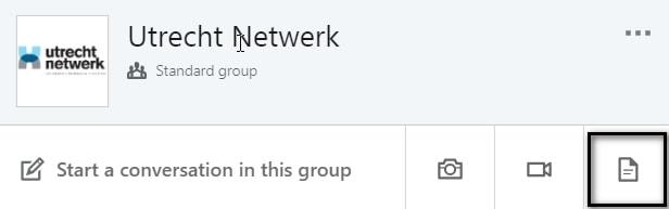 linkedin documenten in groep of linkedin bedrijfspagina