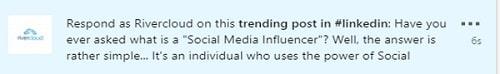 Linkedin hashtag bedrijfspagina