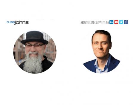 Russ Johns en Victor Huiting in gesprek over LinkedIn met LinkedIn Live (2)