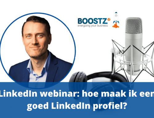 LinkedIn webinar: hoe maak ik een goed LinkedIn profiel?